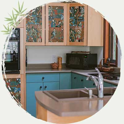 Seido-en Forest House Kitchen